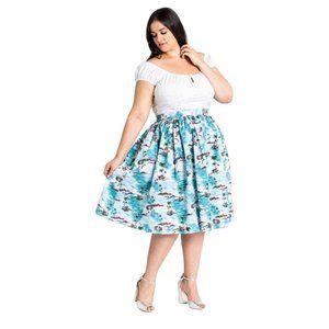 Hell Bunny Nissi 50's Skirt
